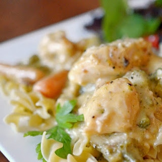 Slow Cooker Creamy Chicken - 8 Minute Prep Time!