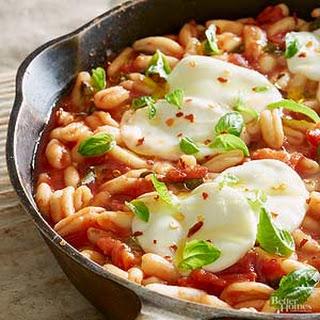 Tomato-Basil Cavatelli Skillet