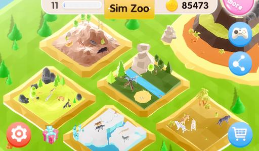 Sim Zoo - Wonder Animal 1.1.0 screenshots 17