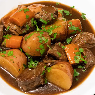 Slow Cooker Irish Guinness Beef Stew.
