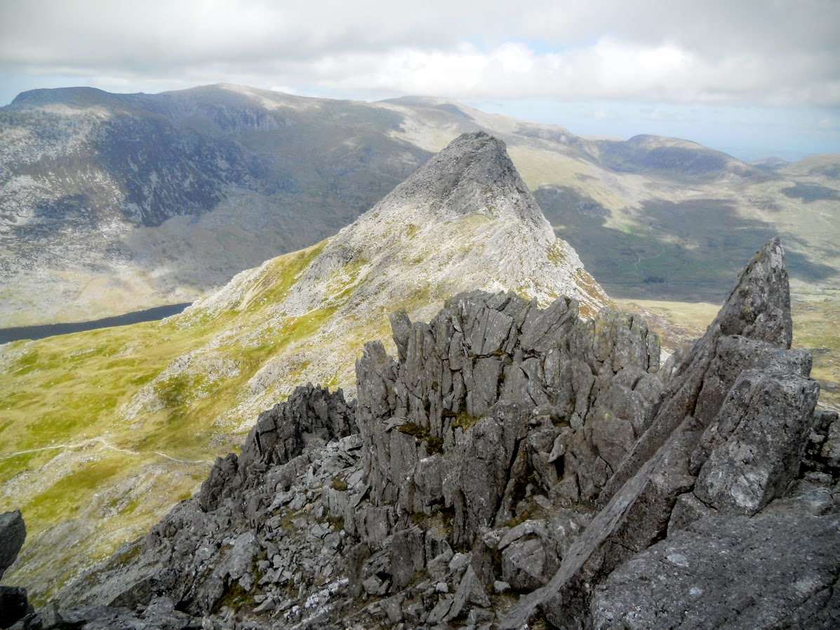 Tryfan from Bristly Ridge