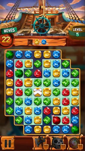 Jewel Voyage: Match-3 puzzle apktram screenshots 7