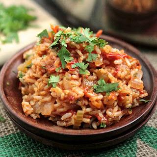 Spicy Vegan Jambalaya.