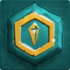 Jogo de puzzles Crystalux icon