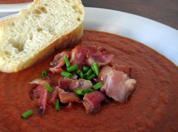 Munsterland Tomato Soup With Bacon