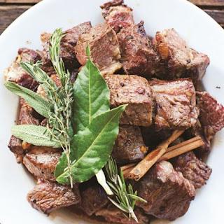 Beef Stew with Leeks.
