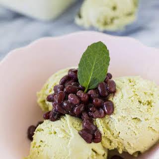 No-Churn Matcha (Green Tea) Ice Cream.