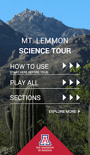 Mt. Lemmon Science Tour- screenshot thumbnail