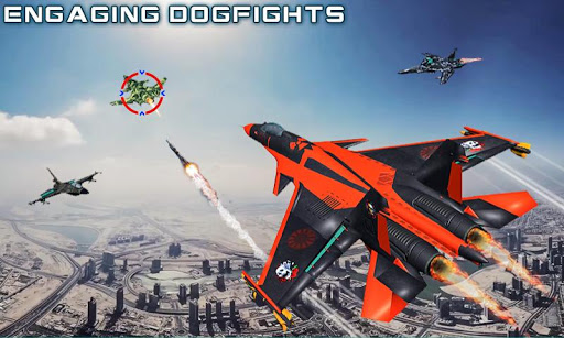 US Air Force Military Pilot Sky Battle 3D filehippodl screenshot 2