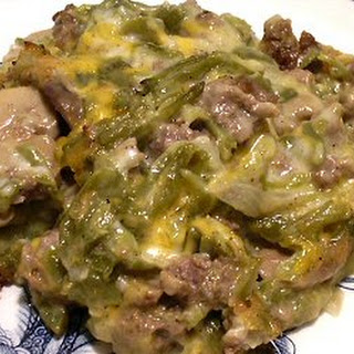Hamburger Green Bean Casserole Recipes