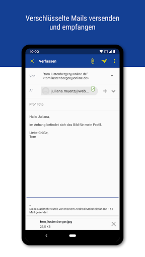 1&1 Mail 6.17.6 screenshots 3