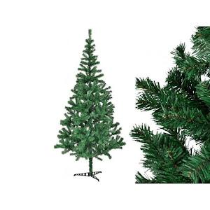 Brad verde Craciun 180 cm, artificial, suport metalic