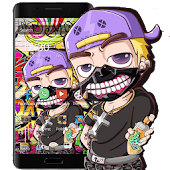 Graffiti Cartoon Theme