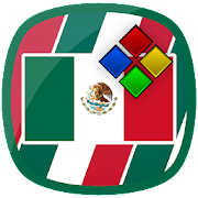 Mexico Flag Theme for XPERIA