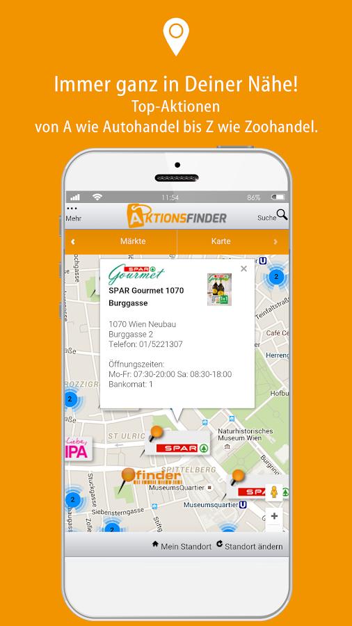 Aktionsfinder- screenshot