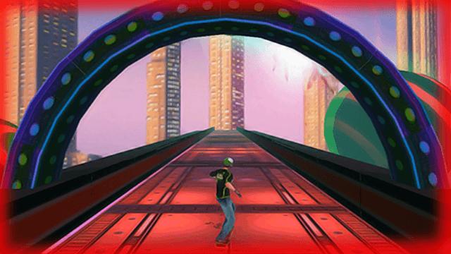 Amazing Skate 3D - screenshot