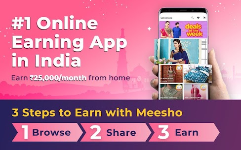 Work from Home, Earn Money, Resell with Meesho App 1