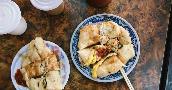 三重蛋餅大王|熱烈奔騰雙蛋炸蛋餅|酥香厚實的香脆