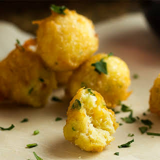 Gluten Free Spanish Salt Cod Croquettes.
