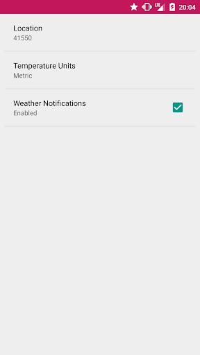 Weathi 1.1 screenshots 4