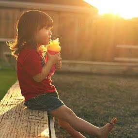 Summer At The Park by Braxton Wilhelmsen - Babies & Children Children Candids ( child, girl, retouching, park, relax, summer, kids, photography, photoshop )