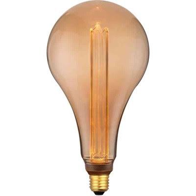 Led Lampa E27 Deco Droppe S165 E27 Amber