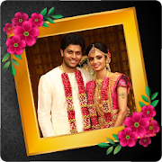 Tamil Wedding Photo Frame With Wishes