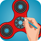 How to Draw Spinner - Learn to Draw