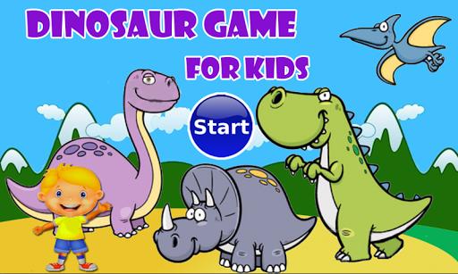 Dinosaur Games for Free : Kids