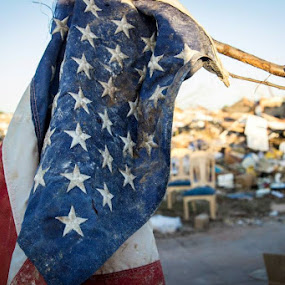 Moore 2013 tornado aftermath by Johnny Blanco - Landscapes Weather