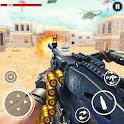 Critical Machine Gun Strike: Action shooting games icon