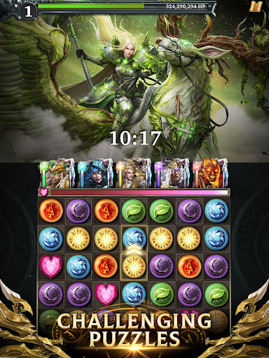 Legendary Game of Heroes: Match-3 RPG Puzzle Quest screenshots 2
