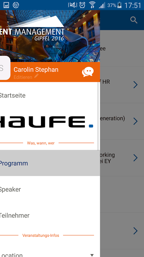 Haufe Talent Management Gipfel- screenshot