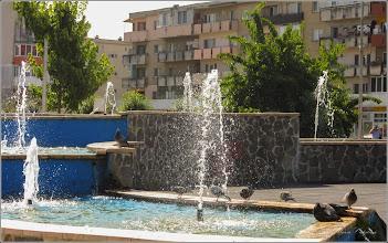 Photo: Turda - Parcul Teilor -  fântână arteziană  - 2019.07.08