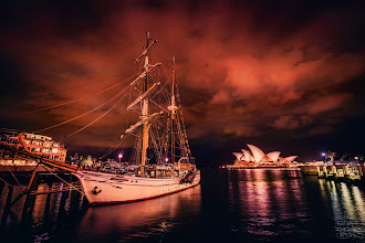 Photo: Sailing into Sydney Harbour  Here's a new one I've been working on over the weekend... also working on putting together a few how-to videos and things for you too. I'll get them up onhttp://www.youtube.com/stuckincustoms when they are ready, so subscribe there to see them first :)
