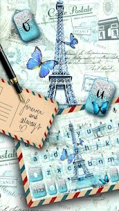 Paris Postcard Keyboard Theme 1.0 Mod Android Updated 2