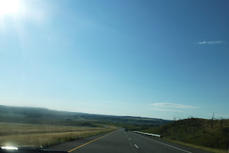 Photo: Driving on I-90 south of Billings.