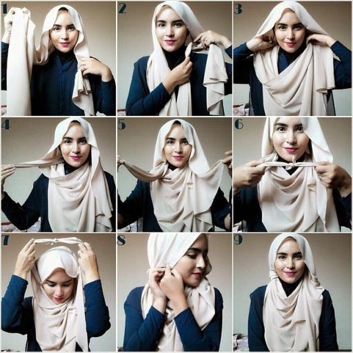 Gaya Hijab Tutorial