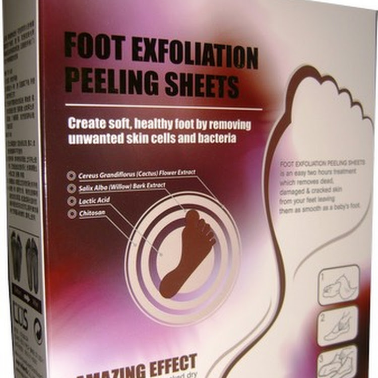 LUS Foot Exfoliating Mask - Beautfiful Baby Feet! Results Guaranteed by Supermodels Secrets