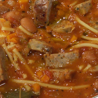 Bean Soup with Sausages