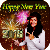 New Year Photo Frames-2018 Greetings Wishes