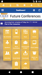 CALEA Conferences- screenshot thumbnail