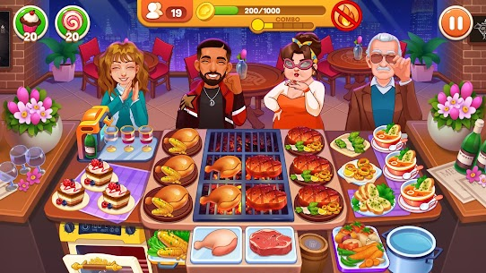 Cooking Dream: Crazy Chef Restaurant cooking games 6