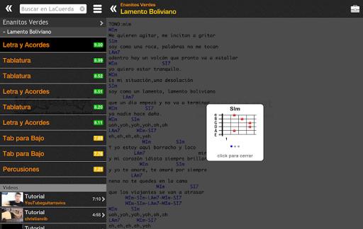 Tabs & Chords in Spanish screenshot 6