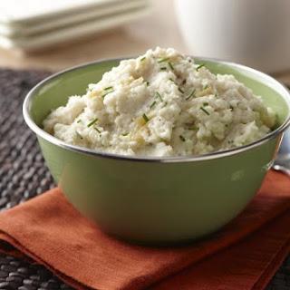 Roasted Garlic Cauliflower Mash.