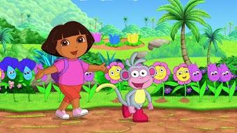 Dora und die Felsen-Achterbahn