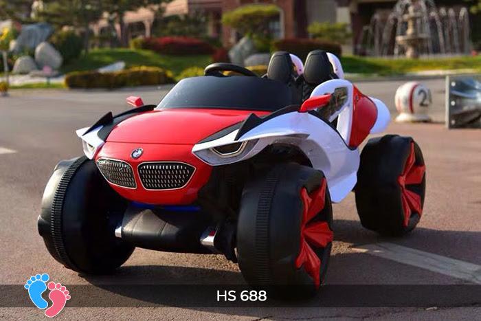 Xe ô tô điện địa hình cho bé hs-688 15