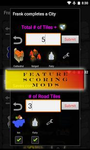 Carcassonne Scoreboard - screenshot thumbnail