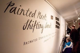 Photo: Painted Pixels, Shifting Sands opened Feb 1, 2014 in Big Sky, MT.