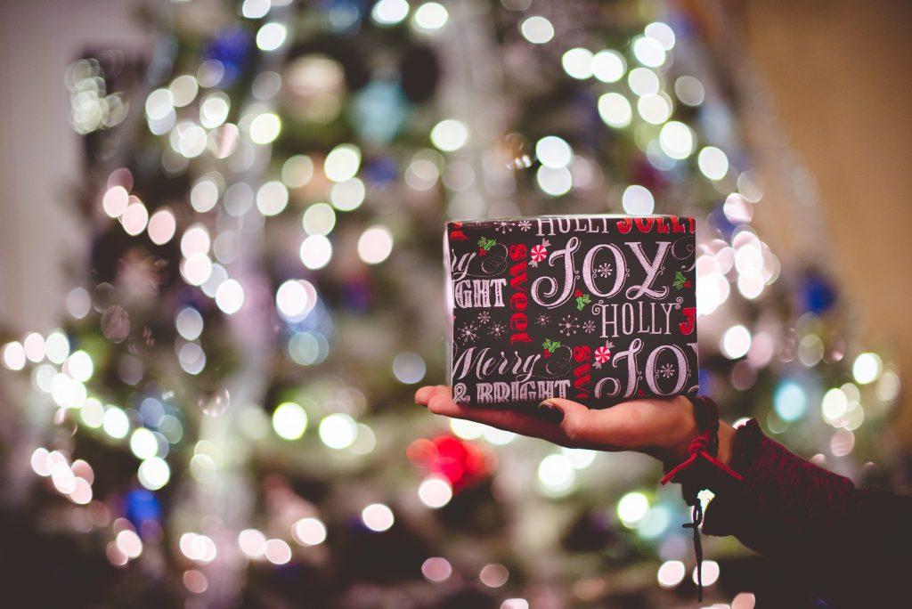 christmas in  lockdown - gift giving